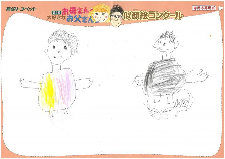 E.Yちゃん(5才)の作品