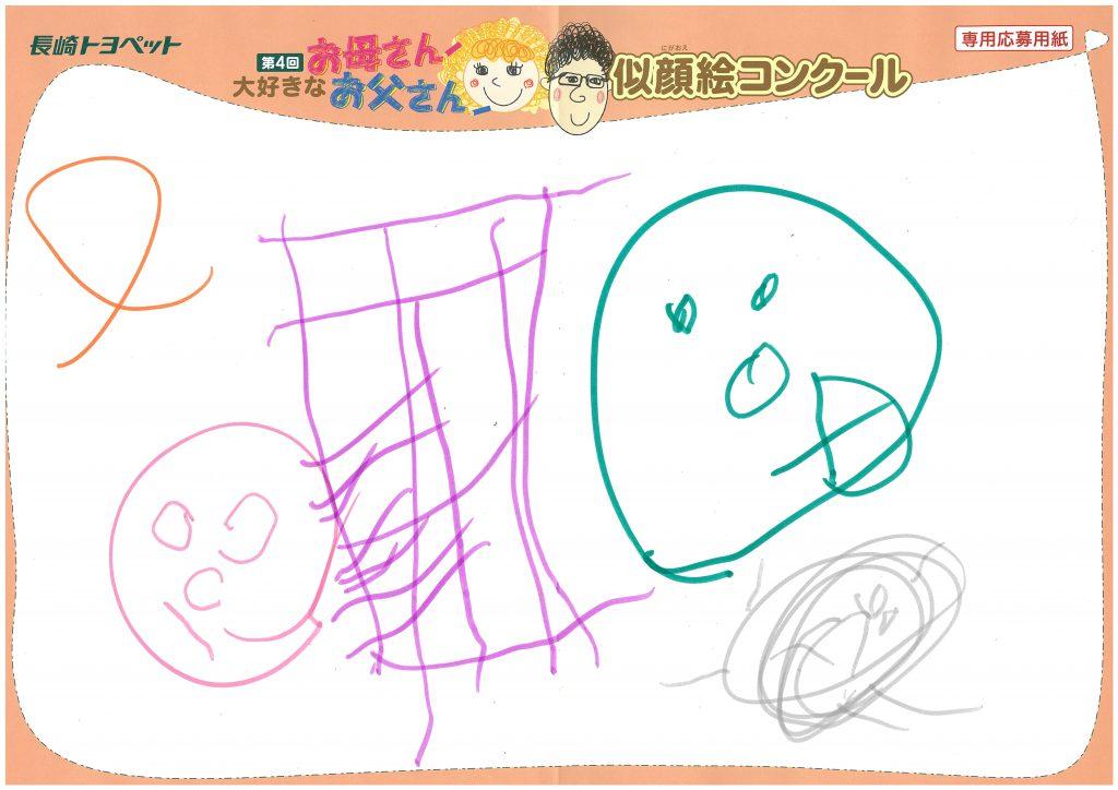 H.Aちゃん(2才)の作品