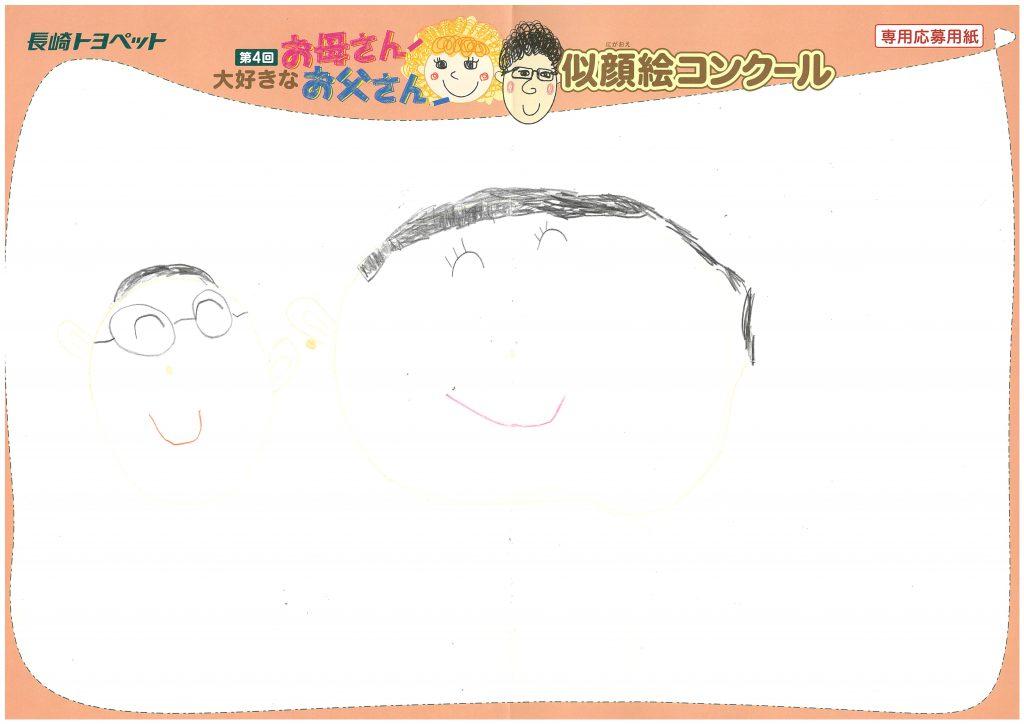 N.Sちゃん(5才)の作品