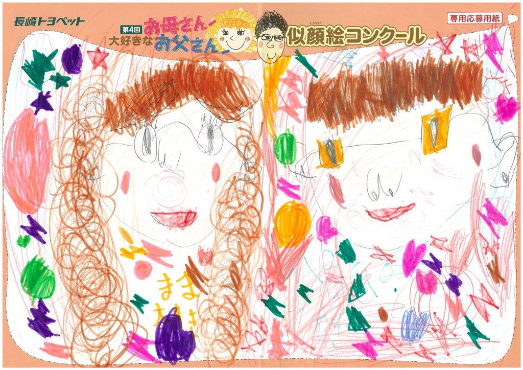 T.Sちゃん(5才)の作品