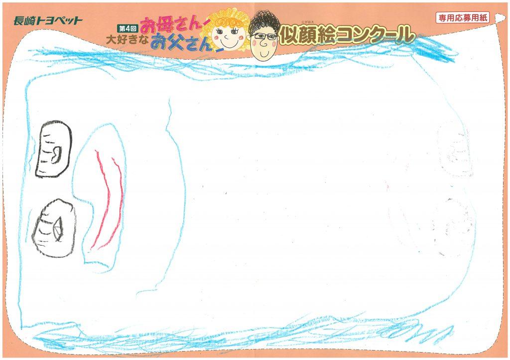 M.Tちゃん(3才)の作品