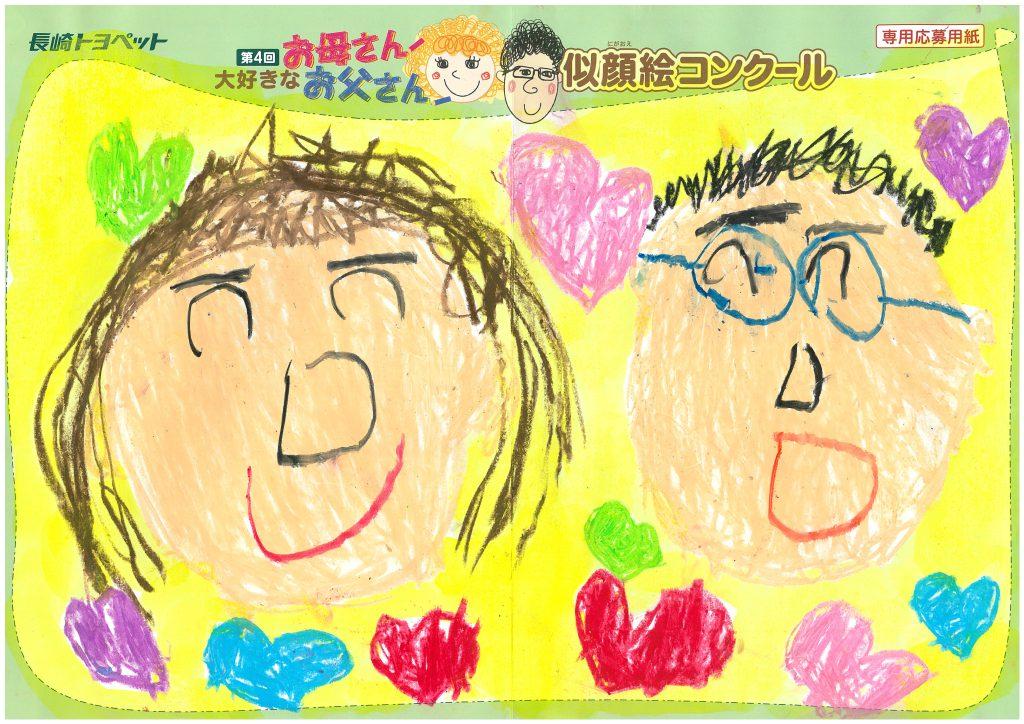 E.Kくん(5才)の作品