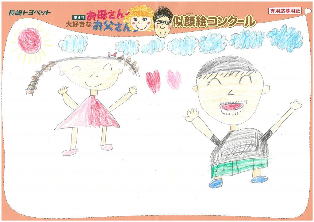 M.Tくん(6才)の作品