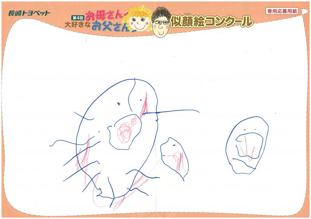 M.Hちゃん(3才)の作品