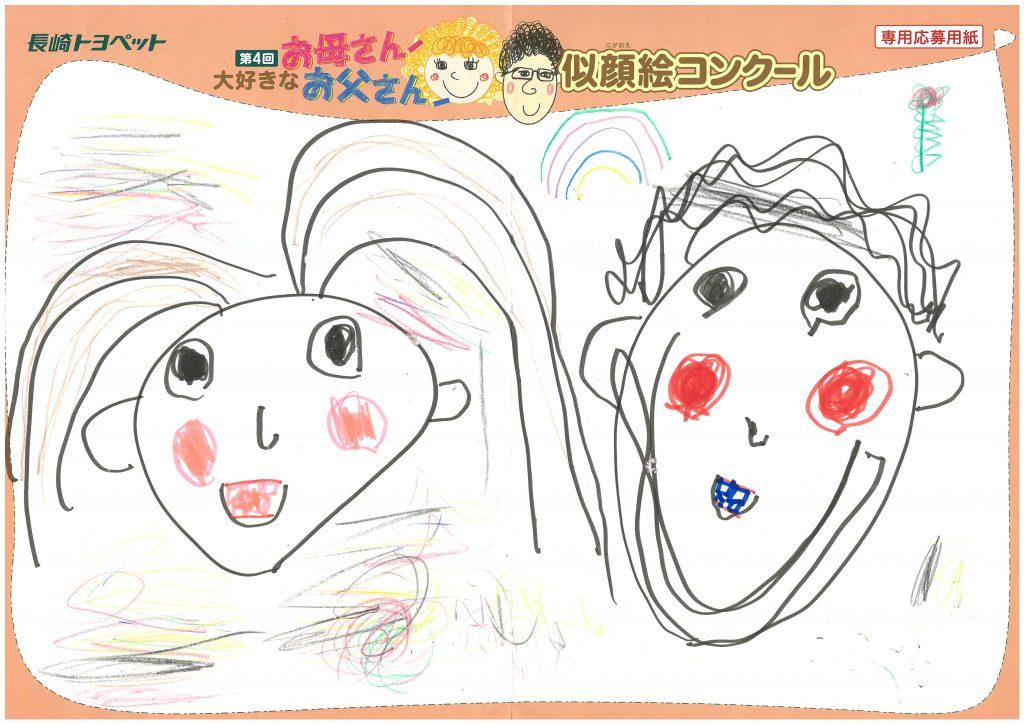 Z.Hくん(5才)の作品