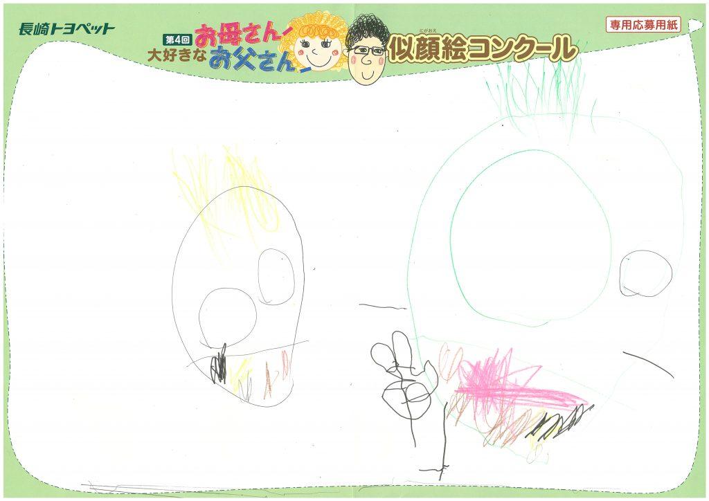 Z.Mくん(4才)の作品