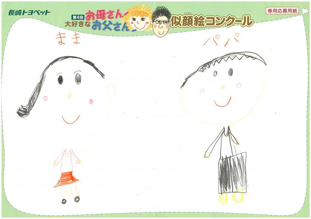 K.Kちゃん(6才)の作品