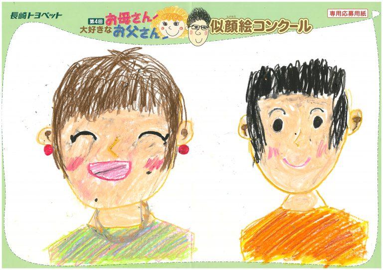 R.Tちゃん(10才)の作品