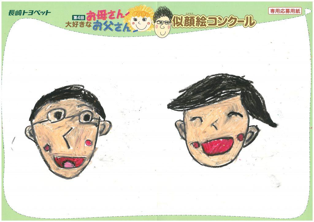 R.Tくん(7才)の作品