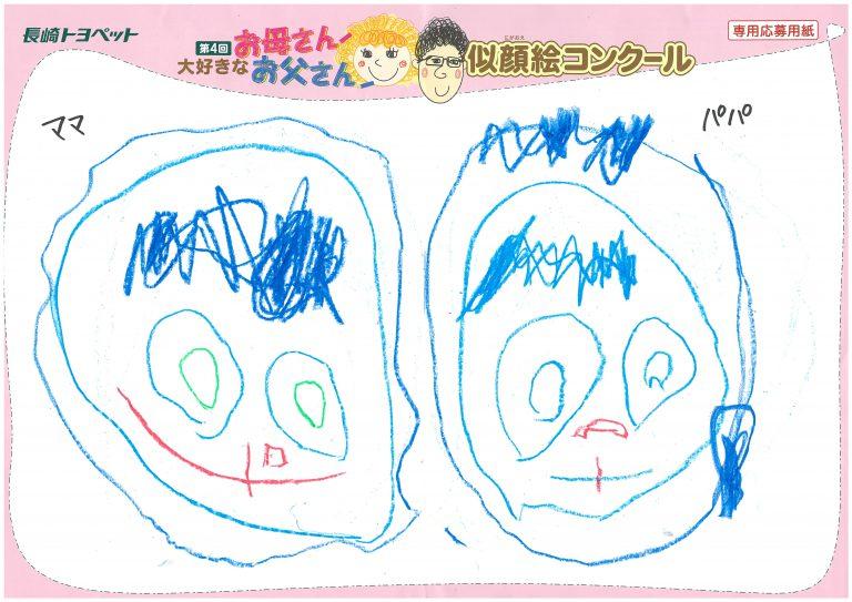 N.Kくん(3才)の作品