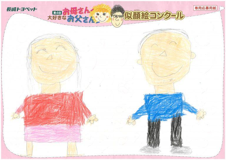 E.Nくん(6才)の作品