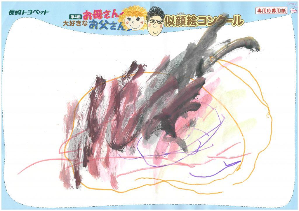 T.Oくん(3才)の作品