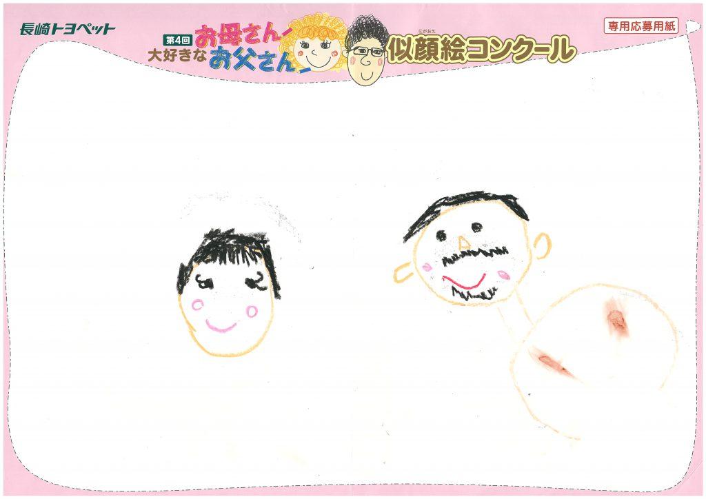 T.Mちゃん(5才)の作品