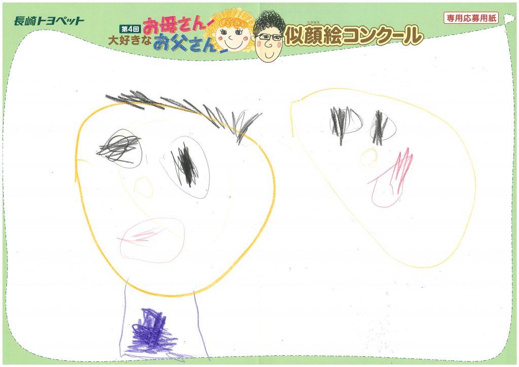 S.Mくん(4才)の作品