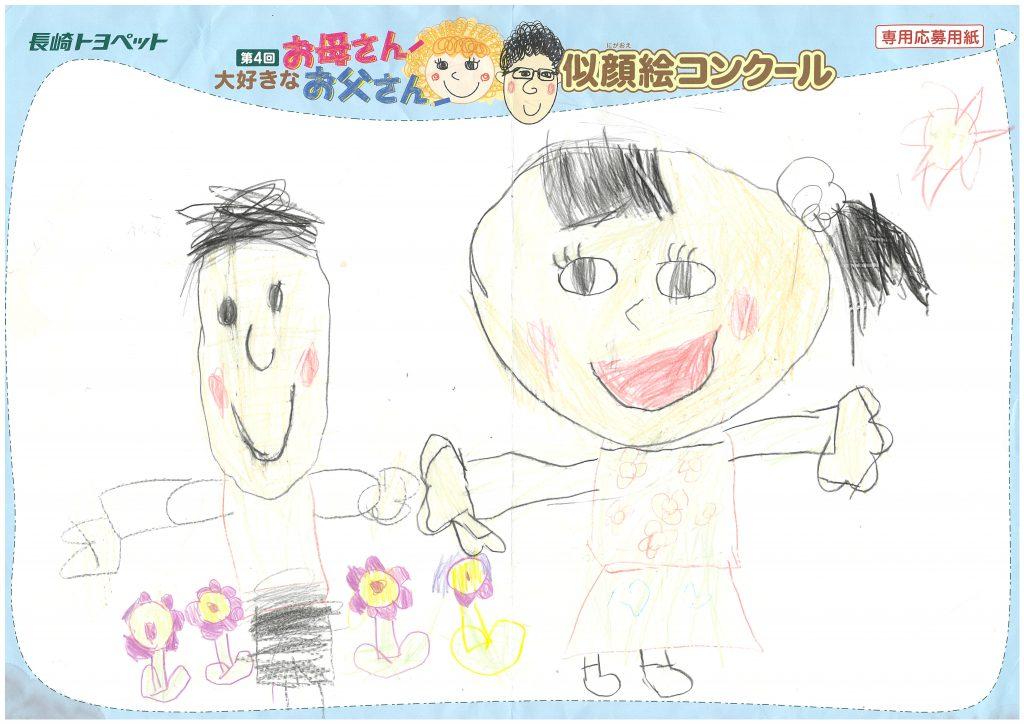 A.Hちゃん(6才)の作品