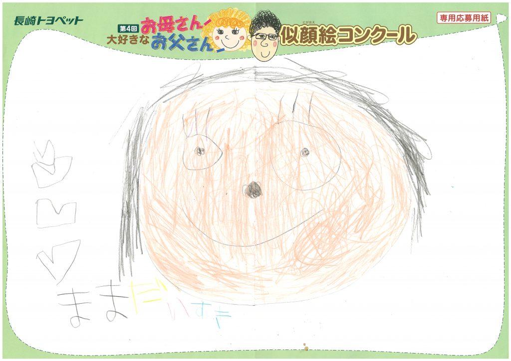 A.Kくん(5才)の作品