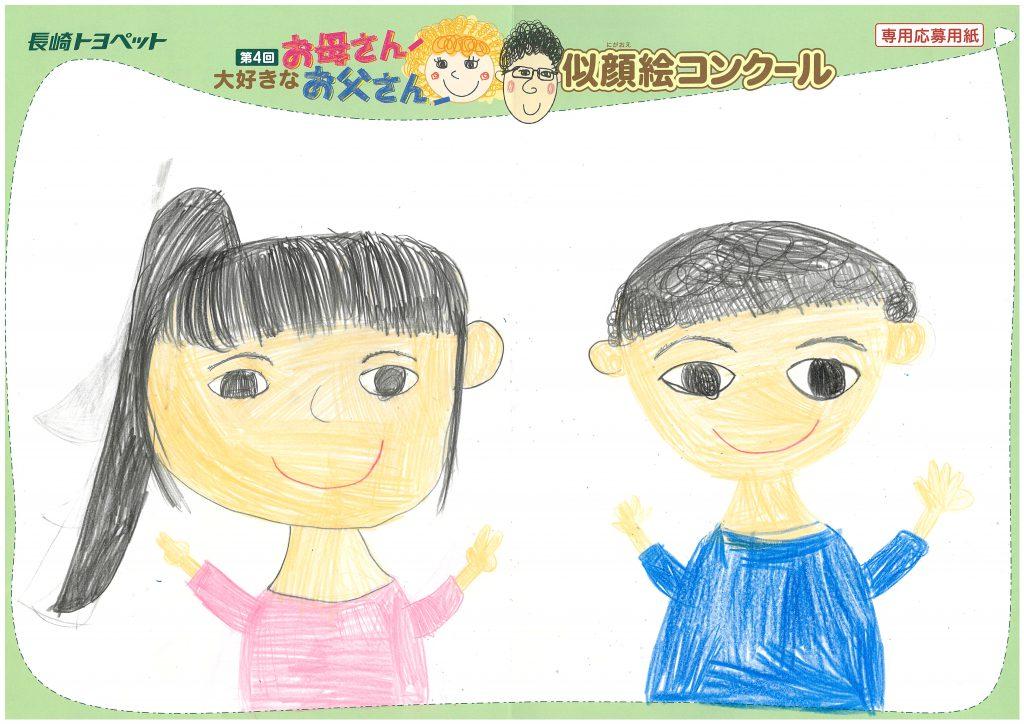 A.Hちゃん(9才)の作品