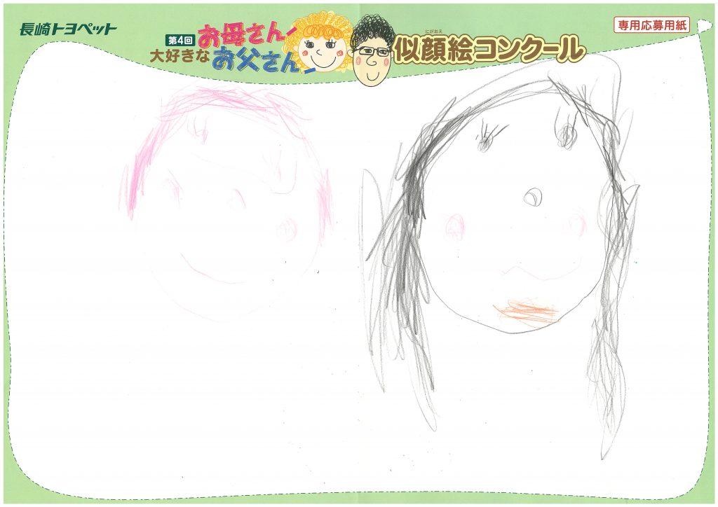 K.Oちゃん(3才)の作品