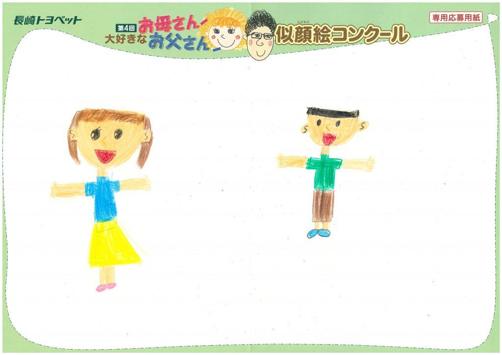 N.Tちゃん(7才)の作品
