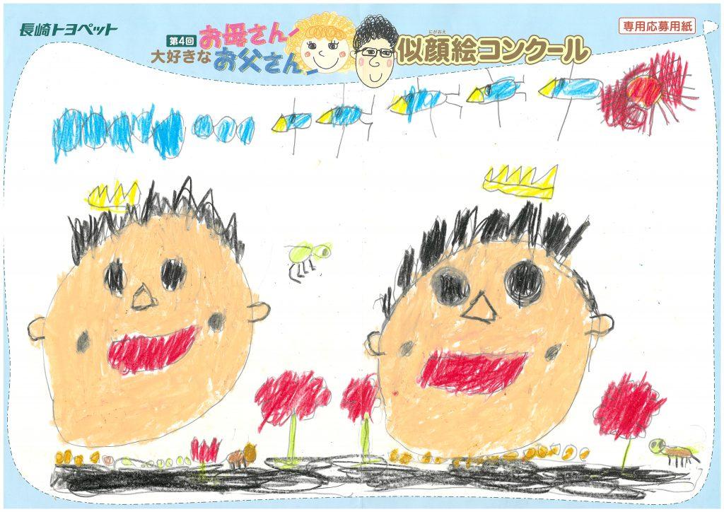 I.Hくん(6才)の作品