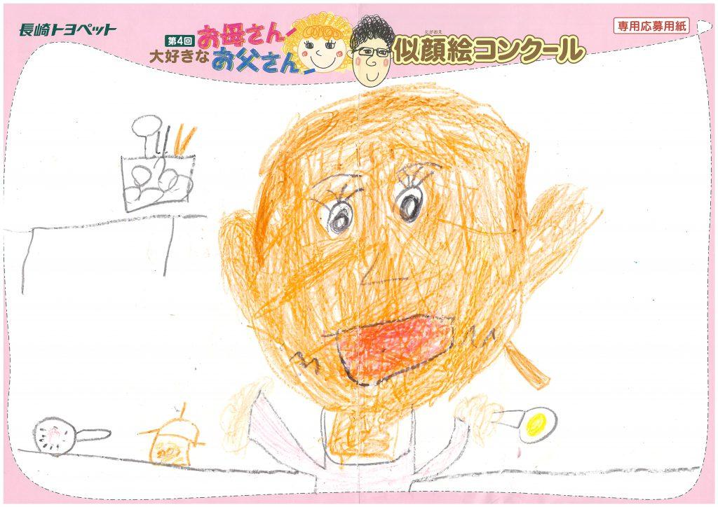E.Nちゃん(4才)の作品