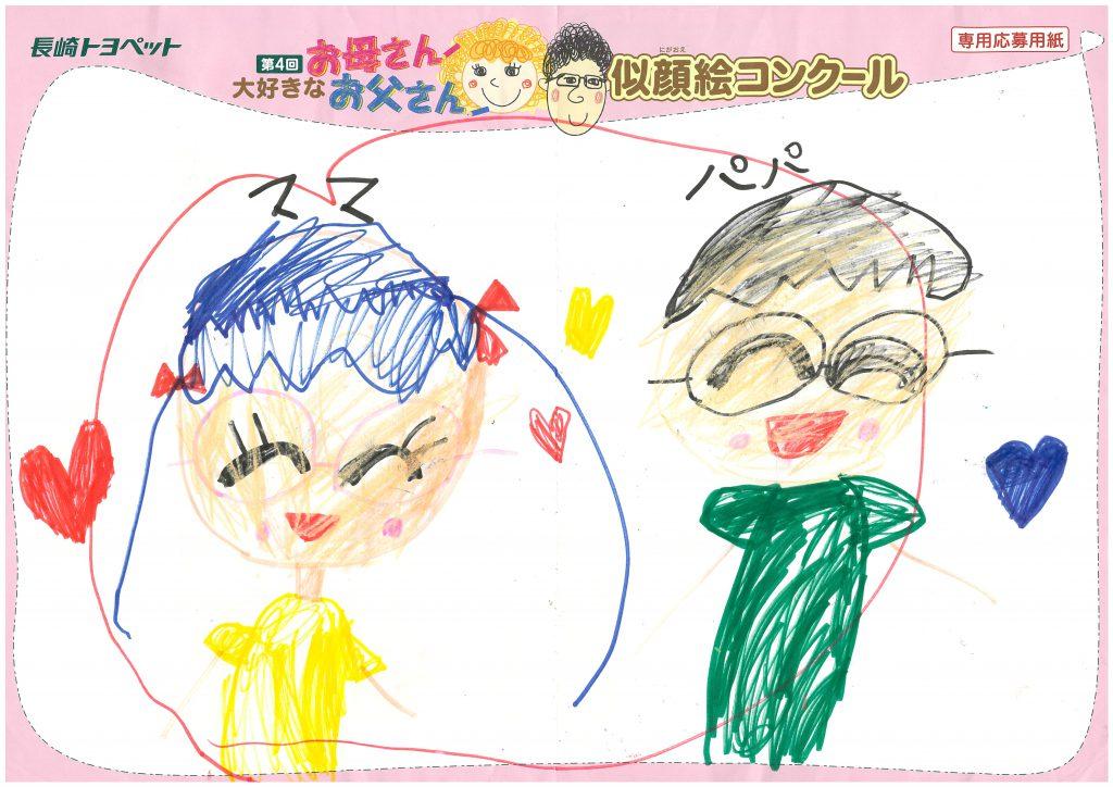 T.Mちゃん(6才)の作品