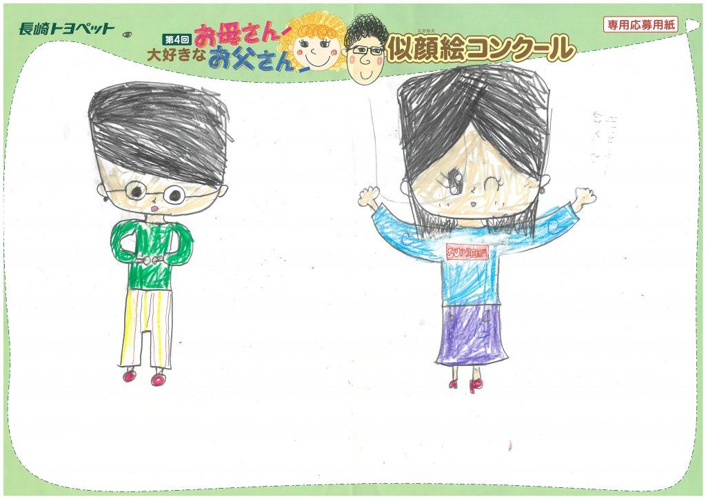 S.Yちゃん(10才)の作品