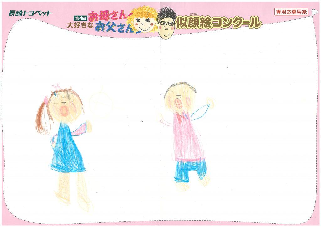 M.Oちゃん(5才)の作品