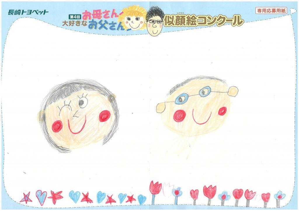 A.Hちゃん(7才)の作品