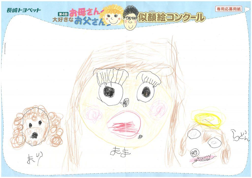 M.Mくん(5才)の作品