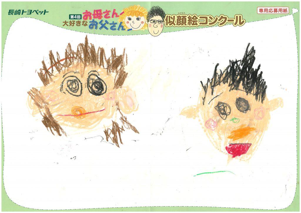 K.Iくん(3才)の作品