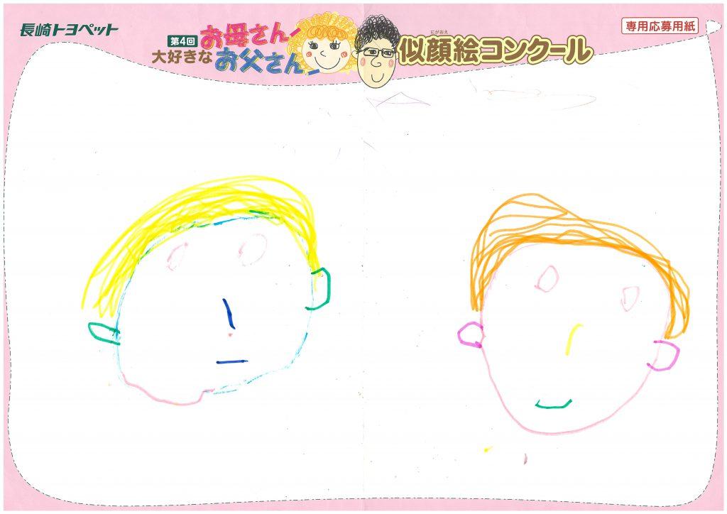S.Mちゃん(4才)の作品