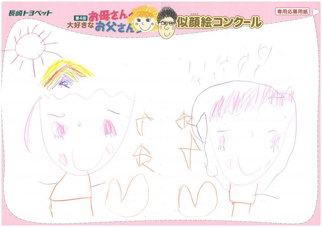 A.Yちゃん(5才)の作品