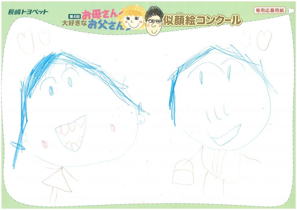 R.Nちゃん(4才)の作品