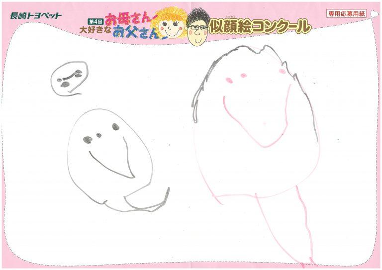 A.Sちゃん(4才)の作品