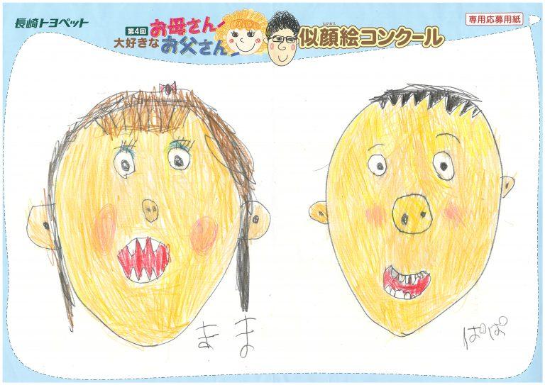 Y.Mくん(5才)の作品