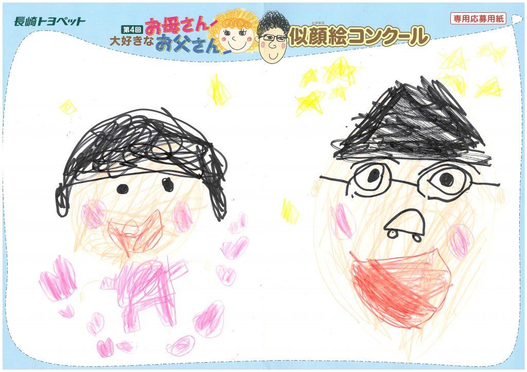 Y.Nくん(6才)の作品