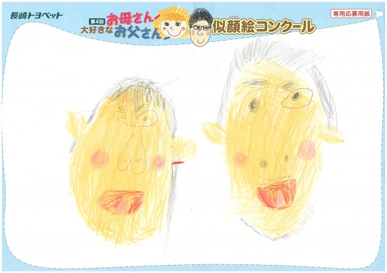 T.Kくん(4才)の作品