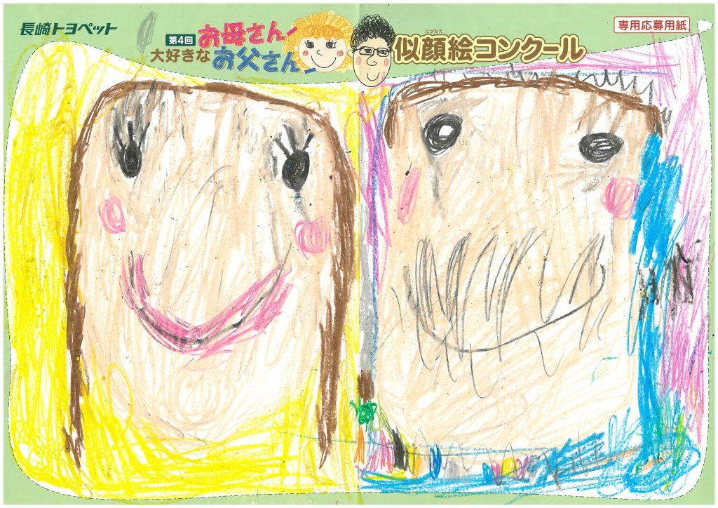 T.Yちゃん(5才)の作品