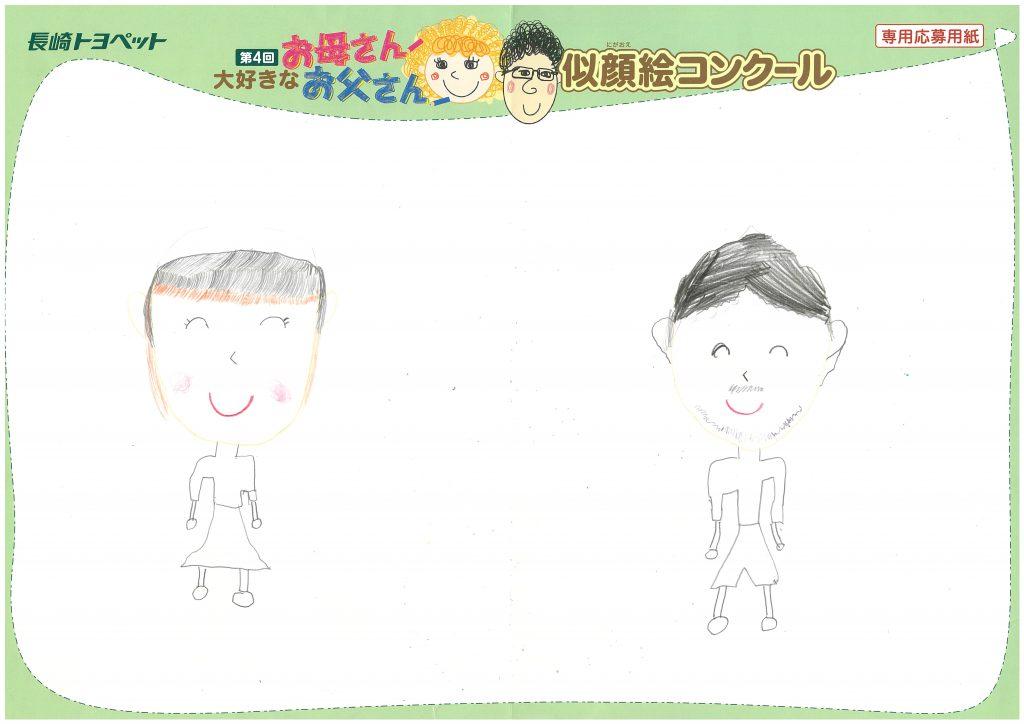 H.Nちゃん(8才)の作品