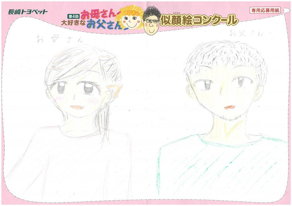 H.Tちゃん(12才)の作品