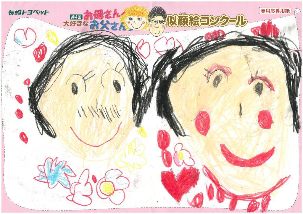 A.Tちゃん(4才)の作品