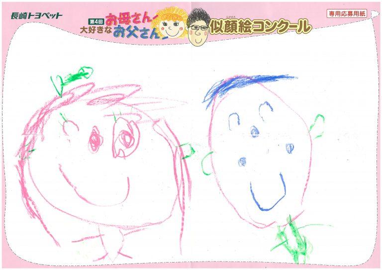 R.Nさん(4才)の作品