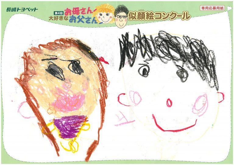 M.Uちゃん(5才)の作品