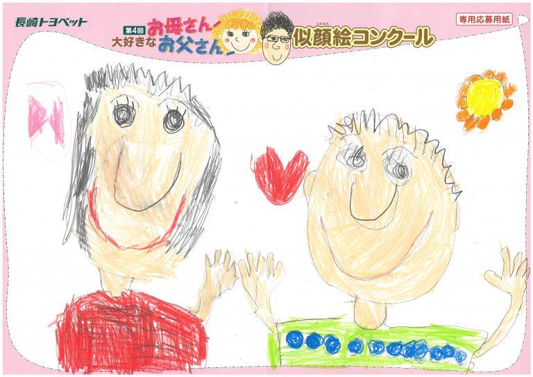W.Iちゃん(4才)の作品