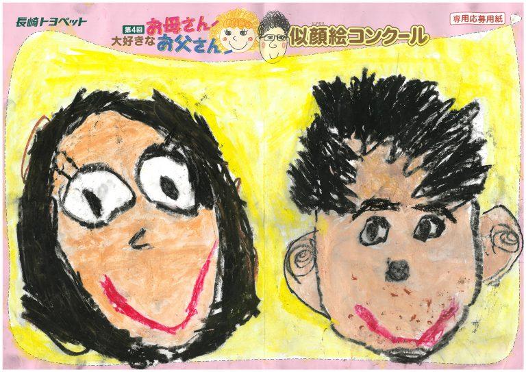 S.Dくん(6才)の作品