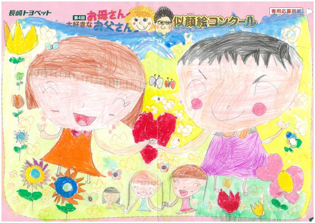 K.Nちゃん(6才)の作品