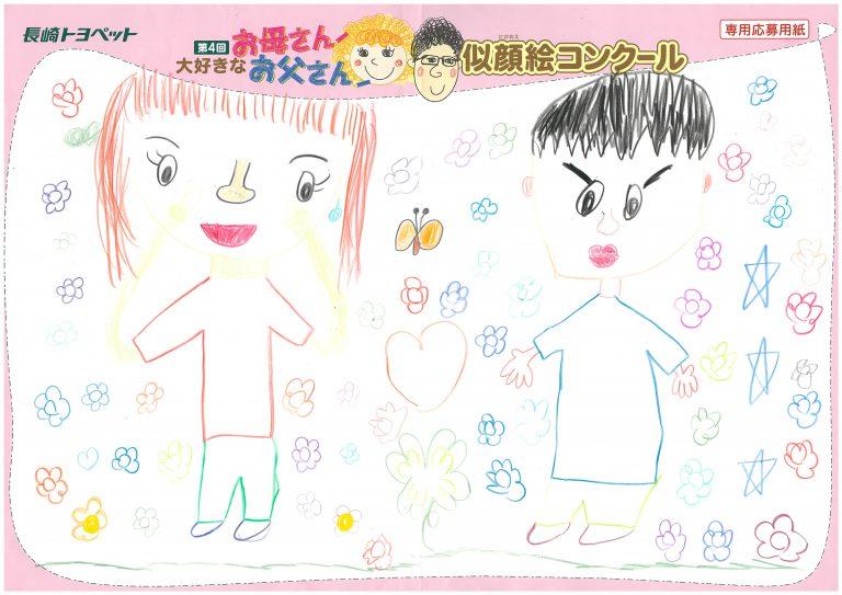 A.Uちゃん(8才)の作品