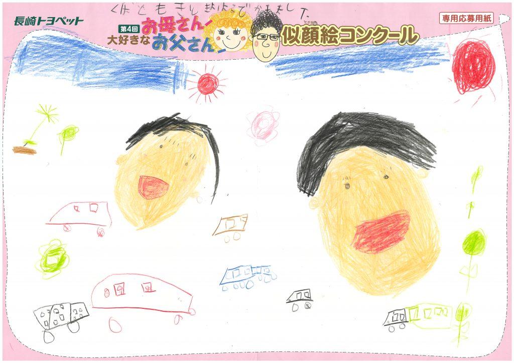 T.Kくん(7・4才)の作品