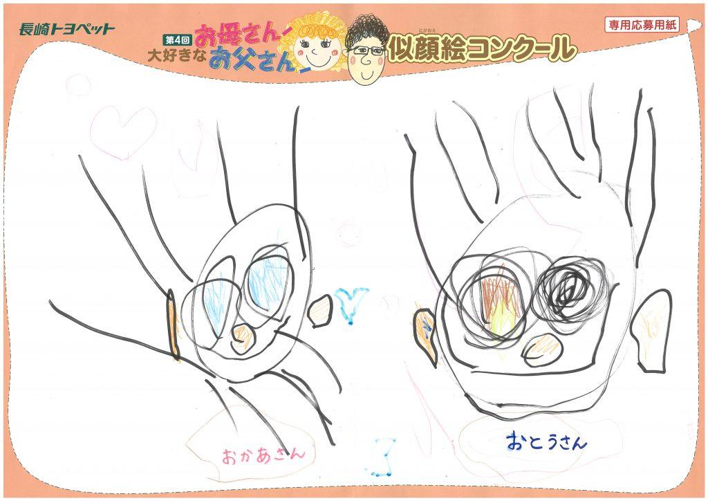 S.Yちゃん(3才)の作品